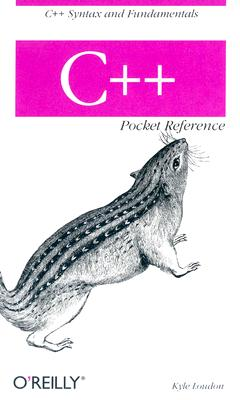 C++ Pocket Reference By Loudon, Kyle